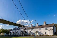 亨伯桥,约克夏,英国东部骑马  免版税库存照片