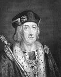亨利七世 库存图片