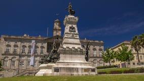 亨利亲王Dom Henrique导航员纪念碑,波尔图,葡萄牙timelapse hyperlapse 影视素材