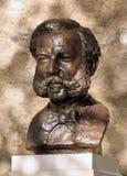 亨利或亨利・杜南,日内瓦古铜色雕象, 库存照片