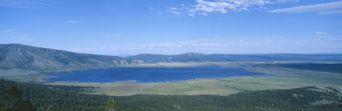 亨利湖 库存照片