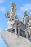 亨利里斯本纪念碑浏览器葡萄牙 图库摄影