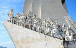 亨利里斯本纪念碑浏览器葡萄牙 库存照片