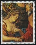 亨利4和玛里在狮子的de Medici婚姻鲁文斯 库存图片