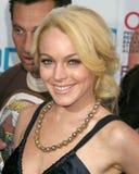 亨利Fonda, Lindsay Lohan 库存照片