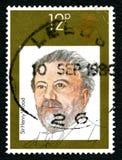 亨利Wood UK Postage先生邮票 库存图片