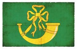 亨廷登郡大英国难看的东西旗子  免版税库存图片