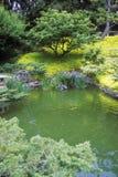 亨廷顿图书馆和庭院,日本庭院,帕萨迪纳,加州 免版税库存照片