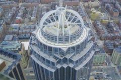 111亨廷顿塔在市波士顿-波士顿,马萨诸塞- 2017年4月3日 图库摄影