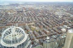111亨廷顿塔在市波士顿-波士顿,马萨诸塞- 2017年4月3日 免版税图库摄影