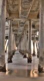 亨廷顿海滩码头 免版税库存图片