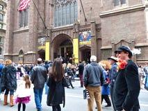 2013年复活节游行 库存照片
