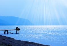 享受夏天 免版税图库摄影