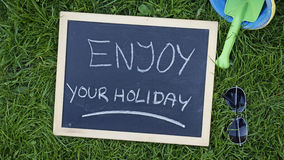 享受您的节假日 库存图片