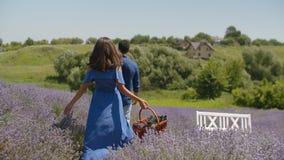 享受暑假本质上的轻松的夫妇 股票录像
