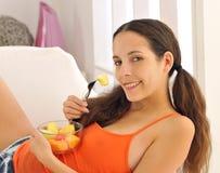 享用健康的果子 库存图片