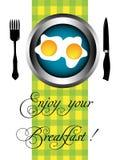 享用您的早餐 库存图片