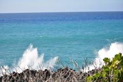 享用海滩 免版税库存图片