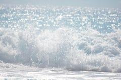 享用海滩 库存照片