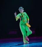 京剧女演员这全国民间舞 免版税库存图片