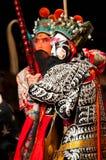 京剧马戏团的演员 库存图片