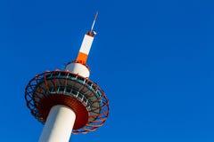 京都塔在京都 免版税库存照片