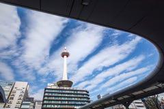 京都塔在日本 库存图片