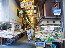 京都市场 库存照片