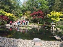 京都庭院 免版税库存照片