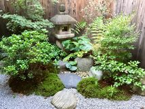 京都庭院 库存图片