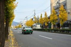 京都日本:2016年12月5日- Kitano Tenmangu 库存图片