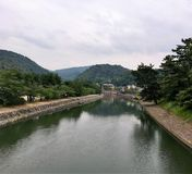 京都水路 库存图片