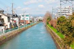 京都运河 库存图片