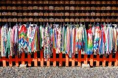 京都,日本:2008年11月19日:Ema祷告委员会 库存照片