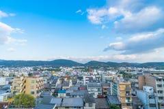 京都,日本- 2015年12月8日:传统房子在京都, Ja 免版税库存照片