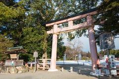 京都,日本- 2015年1月12日:Kamigamo-jinja寺庙 一著名shri 免版税库存照片