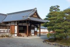 京都,日本- 2015年1月11日:Kyo坎市在没有miya住所站点  免版税库存照片