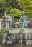 京都,日本- 5月01 :2014 5月01日的Higashi Otani公墓i 免版税库存照片