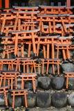 京都Fushima Inari 库存照片