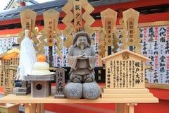 京都Kiyomizudera寺庙 免版税库存照片