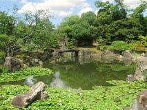 京都Nijo城堡庭院 免版税库存照片