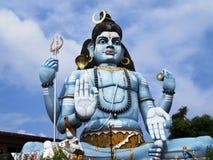 亭可马里/斯里兰卡的Tirukoneswaram的希瓦 图库摄影
