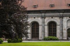亭子在布拉格城堡附近的皇家庭院里 捷克布拉格共和国 库存图片