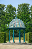 亭子在Herrenhausen庭院里,汉诺威,下萨克森州,德语 库存照片