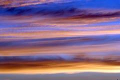 亮光天空 图库摄影