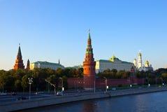 亲切的克里姆林宫莫斯科 免版税库存照片