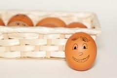 亲切的鸡蛋 免版税库存照片