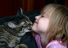 亲吻 库存图片