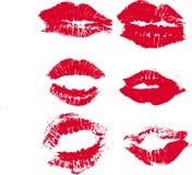亲吻 库存例证