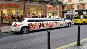 亲爱的余兴节目大型高级轿车 免版税图库摄影